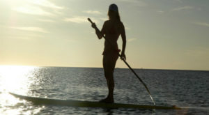 Blow up paddleboards
