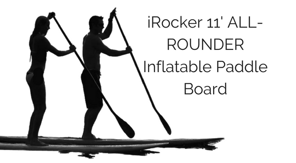 iRocker 11' ALL-AROUND Inflatable Paddleboard Package Review